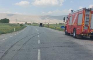 Kahramanmaraş'ta askeri araçla otomobil çarpıştı:...