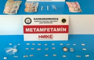 Kahramanmaraş'ta Narkotik Operasyonunda 2 Kişi...
