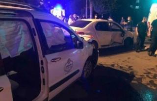 Kahramanmaraş'ta Hafif Ticari Araç İle Otomobil...