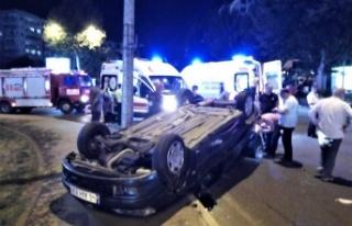 Kahramanmaraş'ta Kazaya Neden Olan Sürücü Kaçtı