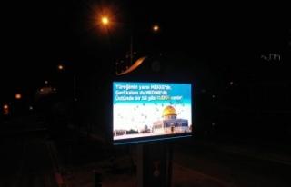 Kudüs İçin Tek Ses: Filistin Yüreğimizde!
