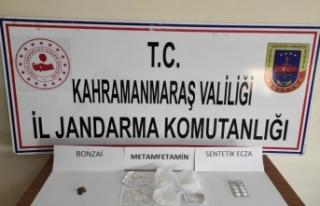 Pazarcık'ta uyuşturucudan 8 kişi gözaltına...