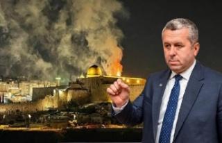Yardımcıoğlu: Bugün Filistin'e ve Gazze'ye...