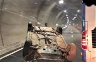 Edebiyat yolunda kaza: 3 kişi yaralandı