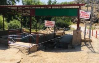 Elbistan'da kaynak suyuna içilmez raporu
