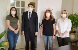 Kahramanmaraş il müdürlerinden KAGİD'e destek...