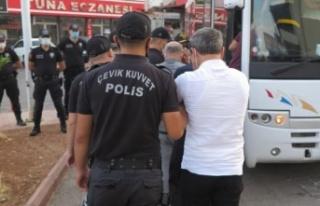 Kahramanmaraş'ta sarı maden operasyonunda: 8 kişi...