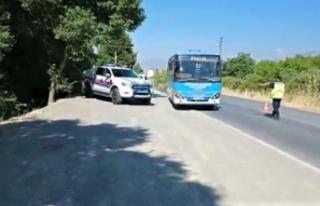 Kahramanmaraş'ta servis araçlarına sivil denetim