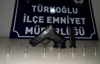 Kahramanmaraş'ta yasa dışı silah kullanan 22...