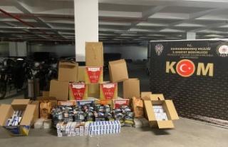 Kahramanmaraş'ta kaçak tütün operasyonu