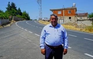 Türkoğlu'nda 4 kilometrelik Kadıoğluçiftliği...
