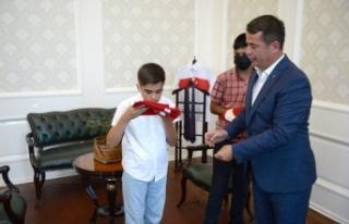 Türkoğlu'nun Türk Bayrağı Sevdalısı Gençleri