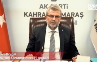 AK Parti İl Başkanı Görgel, 15 Temmuz mesajı...