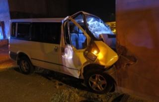 Kahramanmaraş'ta aracının kontrolünü kaybetti...