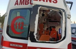 Kahramanmaraş'ta otomobil ile ambulans çarpıştı:...