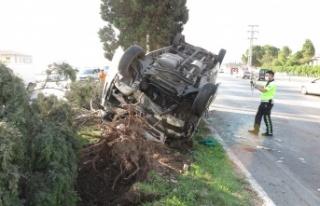 Kahramanmaraş'ta işçi servisi ters döndü: 10...