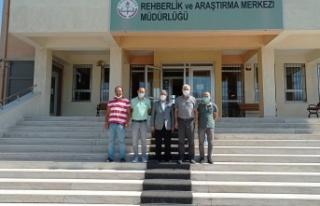 Rektör Prof. Dr. Niyazi Can'ın, Dulkadiroğlu...
