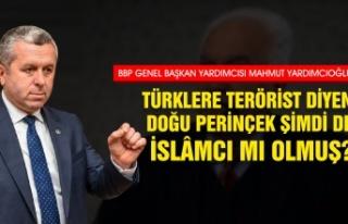 Yardımcıoğlu: Türklere Terörist Diyen Doğu Perinçek...
