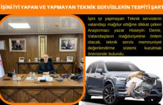 Araştırmacı Yazar Hüseyin Demir, İşini iyi yapan...