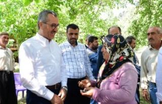 Başkan Güngör ziyaretlerine Onikişubat'ta devam...