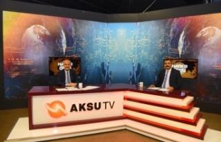Başkan Okay, Dulkadiroğlu ilçesindeki çalışmaları...