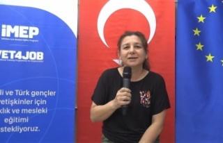 Kahramanmaraş'ta İNEB projesi meslek sahibi yapıyor