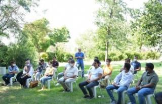 Rektör Prof. Dr. Niyazi Can, Uluslararası Öğrencilerle...