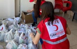 Türk Kızılay'dan Pazarcık'ta yardım seferberliği