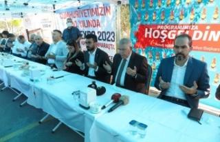 """AK Partili Özdemir, """"Cumhurbaşkanımızın son..."""