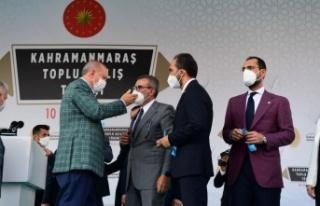 """Cumhurbaşkanı Erdoğan, """"19 yılda Kahramanmaraş'a..."""