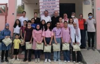 Kahramanmaraş'ta başarılı öğrenciler ödüllendirildi...