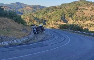 Kahramanmaraş'ta minibüs devrildi: 2 yaralı