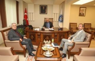 Rektör Prof. Dr. Niyazi Can, Rektör Prof. Dr. Sami...