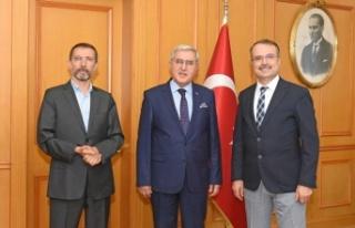 Rektör Prof. Dr. Niyazi Can'ın, MÜ Rektörü...