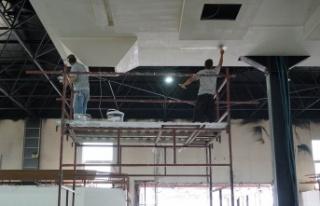 Terminalde yenileme çalışmaları tamamlanıyor