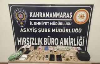Kahramanmaraş'ta gezici hırsızlık şebekesi...