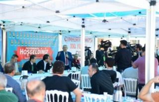 """Mahçiçek, """"EXPO Kahramanmaraş'ı geleceğe..."""