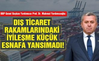 'Dış Ticaret Rakamlarındaki İyileşme Küçük Esnafa Yansımadı'