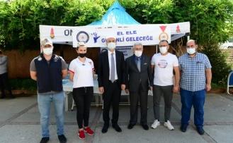 Rektör Can, Dulkadiroğlu Belediye Başkanı Okay İle Birlikte Öğrencilere Yönelik Tanıtım Stantlarını Gezdi