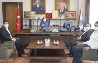 AKDO'dan Emniyet Müdürü Cebeloğlu'na ziyaret
