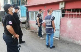 Kahramanmaraş'ta polis, aranan 38 şüpheliyi yakaladı,20'si tutuklandı