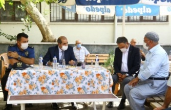 """Emniyet Müdürü Cebeloğlu'ndan """"Huzur"""" Toplantısı"""