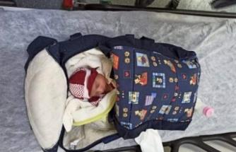 Osmaniye'de apartman girişinde bebek bulundu