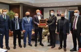 KGC Yönetimi TOKİ Başkanı Ömer Bulut ile görüştü