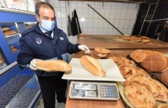 Ekmek fırınları ve kasaplar denetlendi