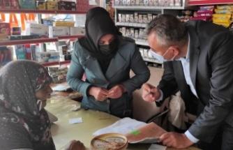 Kahramanmaraş'ta ihtiyaç sahiplerinin bakkal borcunu ödedi
