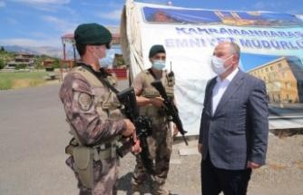 Vali Coşkun'dan Emniyet ve Jandarma Personeline Bayram Ziyareti