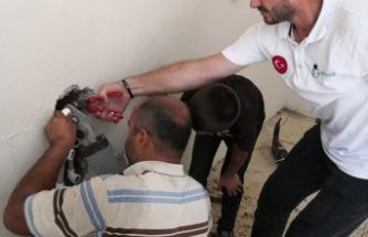 Kahramanmaraşlı kadının yardımına 'Gönül Elçisi' koştu