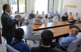Yeni Binasında Eğitime Başlayan Kahramanmaraş Anadolu İHL'ye Ziyaret