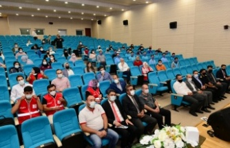 Afet Okuryazarlığı Genç Gönüllüler Projesi Çalıştayı KSÜ ev sahipliğinde gerçekleştirildi